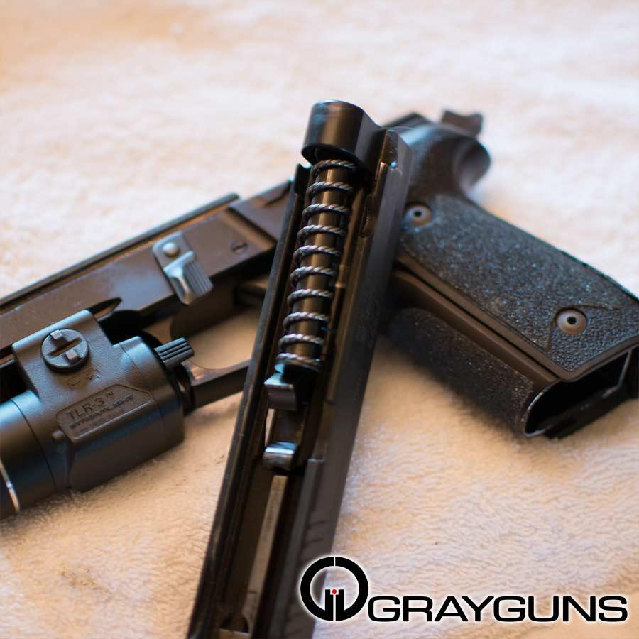 Custom Fat Super Black Guide Rod Grayguns