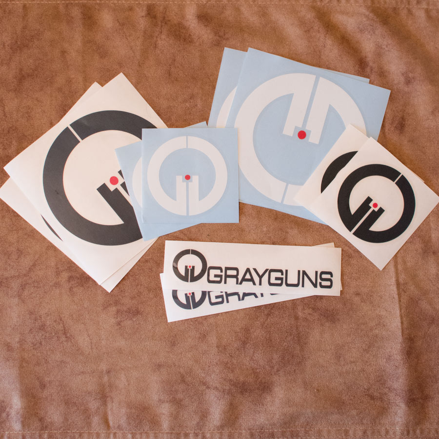 Grayguns Sticker 10-Pack