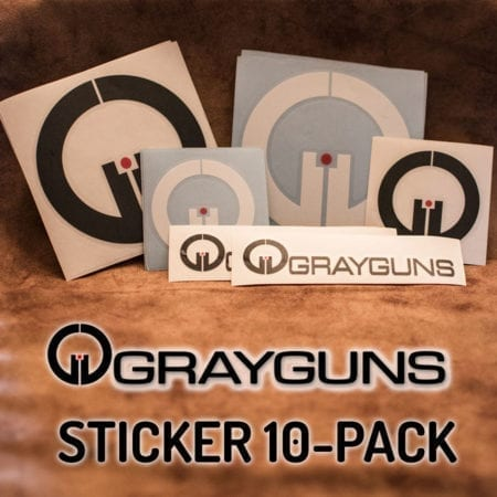 Grayguns Sticker 10-Pack