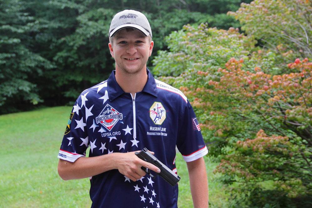 Lane - US World Shoot uniform