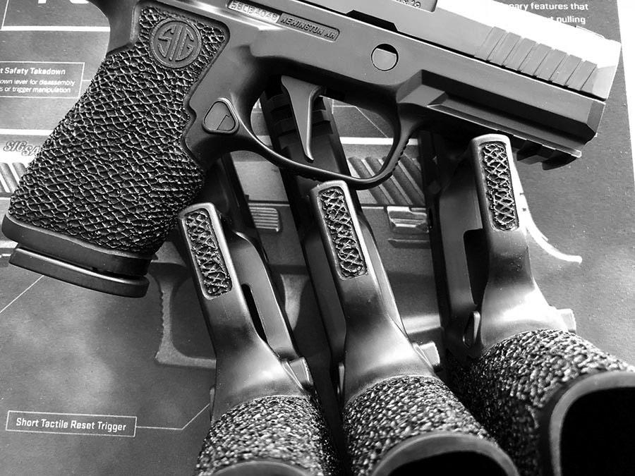 Custom Boresight Solutions P320 Grip Module - Grayguns