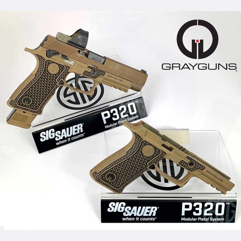 Laser-Sculpted Grip Modules - Grayguns