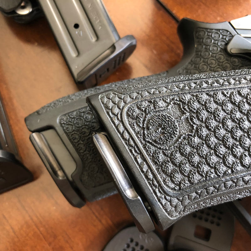 Hard Duty Use SIG P320 Magazine Base Pads - Grayguns