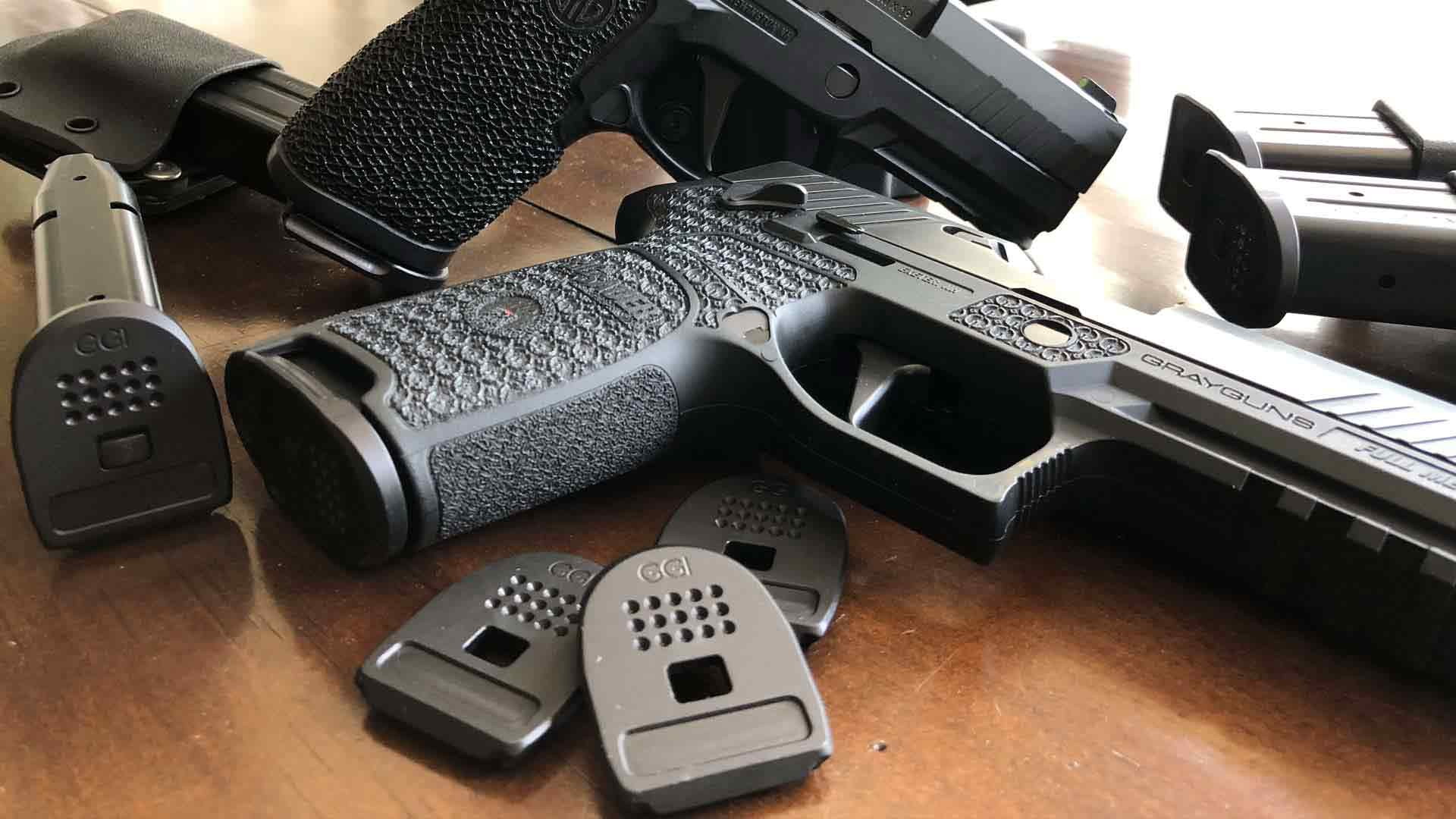 SIG Laser Sculpted Grip Modules