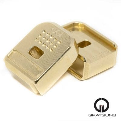 p320 brass base pads