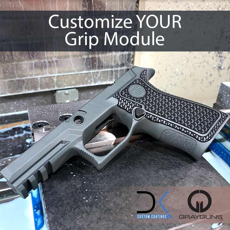 Customize SIG grip modules